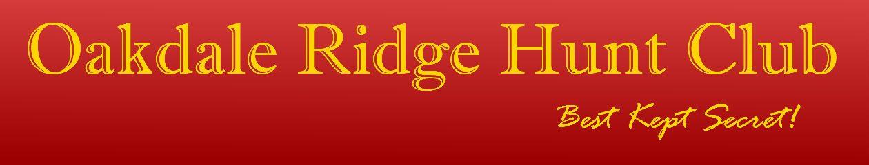 Oakdale Ridge Hunt Club